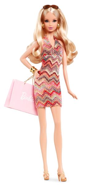 the barbie look city shopper barbie doll